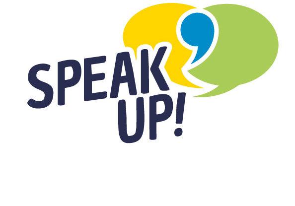 Speak up! Wir machen mit!