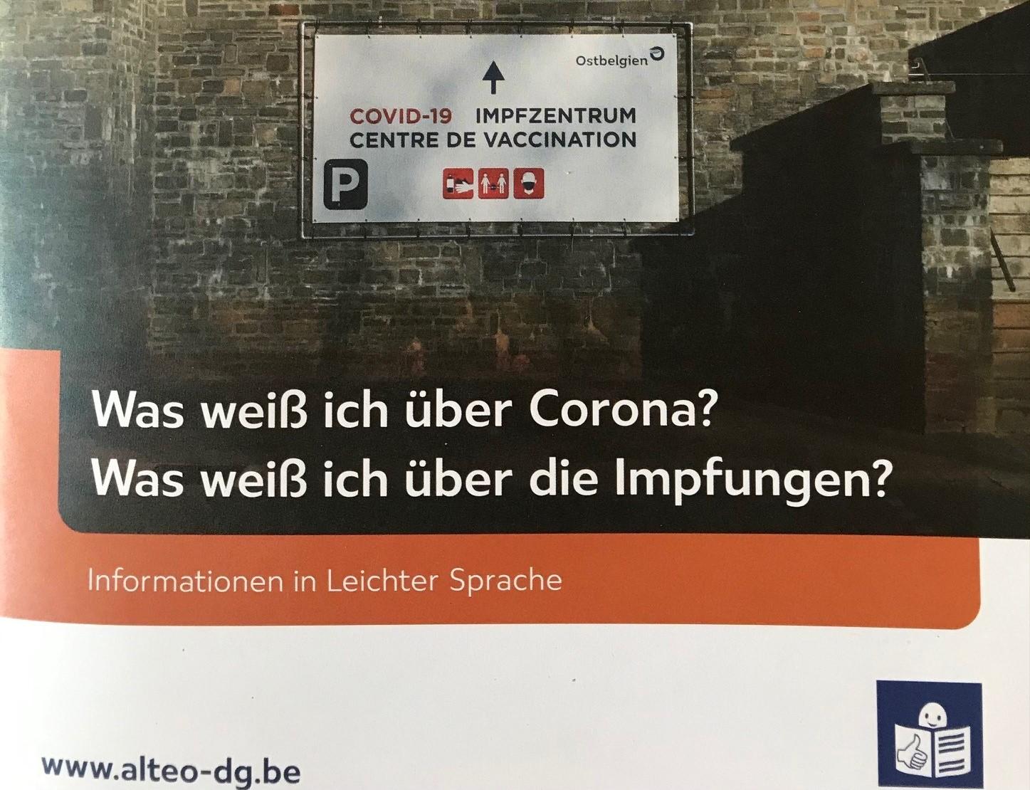 Alteo veröffentlicht Corona-Dossier in Leichter Sprache
